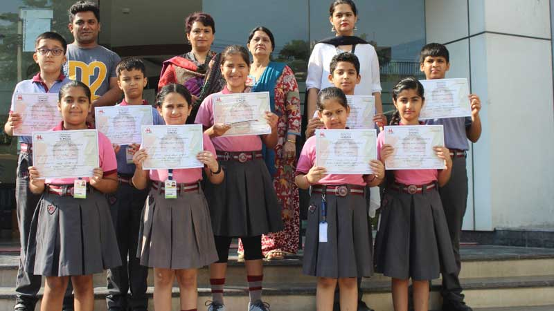 Students Won Accolades at Inter-School Competitions