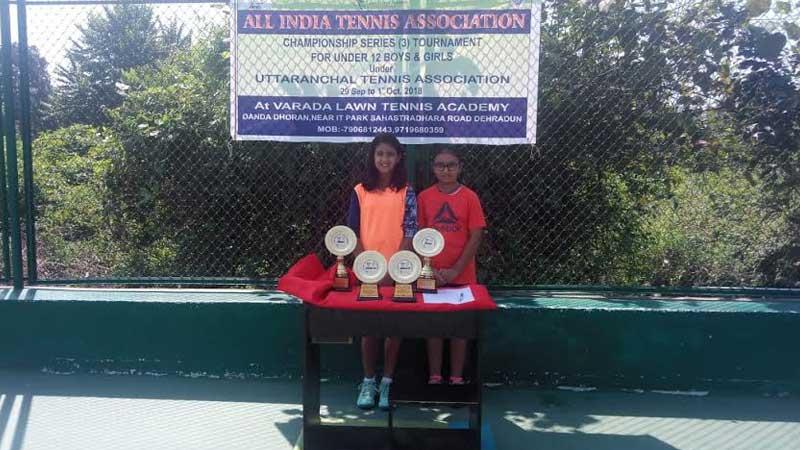 Accolades at All India Championship Series & AITA