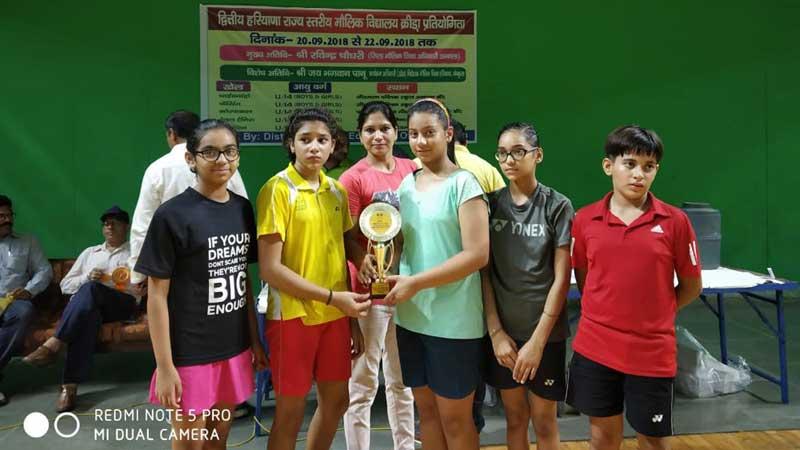 Jiya Rawat bags Second Position at SGFI State Badminton Championship