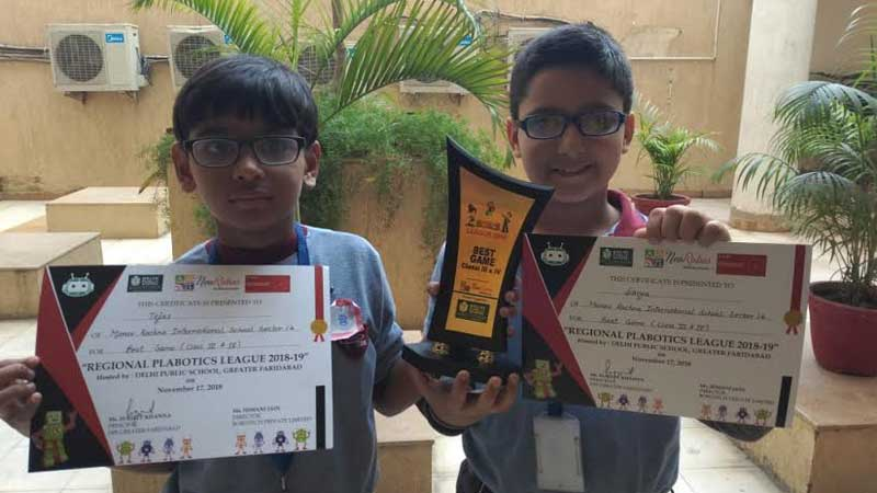 Best Game Award and selection for National level