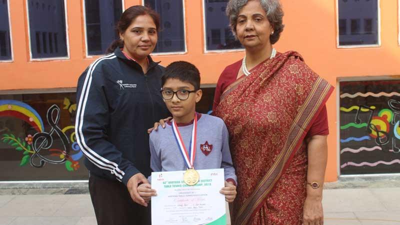 Chirag Jain: Table Tennis Champ