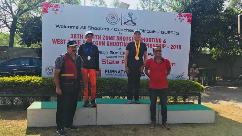 Student aimed the perfect shot at Shooting Championship!
