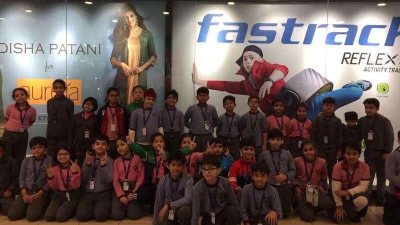 Children Enjoyed movie time on Children's Day