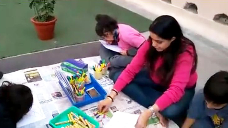 'ART FIESTA' kindled artist in students