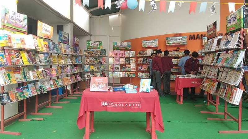 Book Fair with Scholastic India Pvt. Ltd