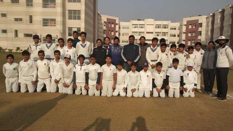 Grand Culmination of 11th Manav Rachna U-14 Cricket Challenge Cup 2018