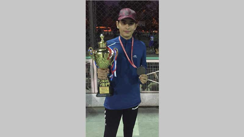 Pranjal Tanwar makes it to Nationals of RSFI State Skating Meet