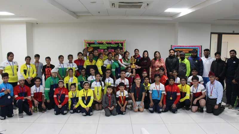 Prize Distribution Ceremony of Inter School Sports Meet-2018-19