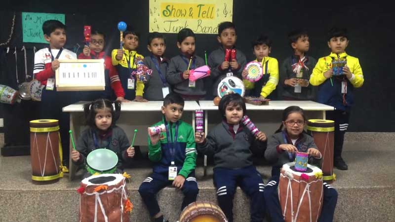Show and Tell-Musical Instruments