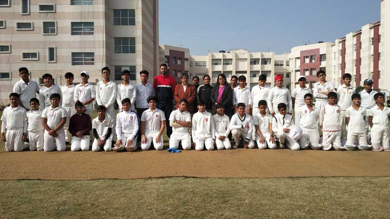 11th Manav Rachna U-14 Cricket Challenge Cup 2018: Day 7