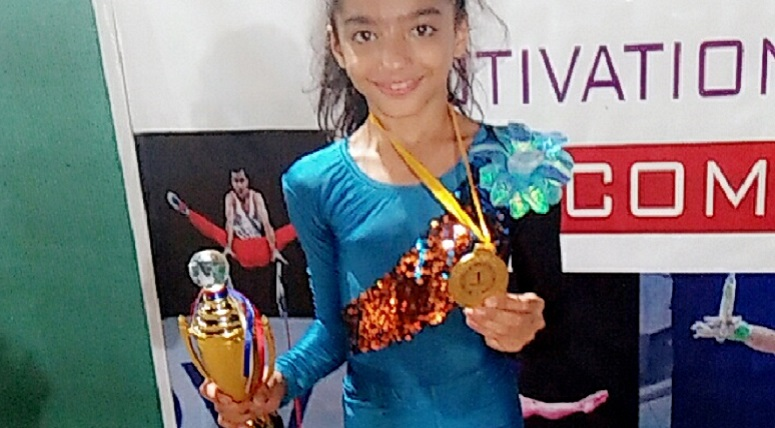 Students proved their mettle at Artistic and Rhythmic Gymnastics Competition