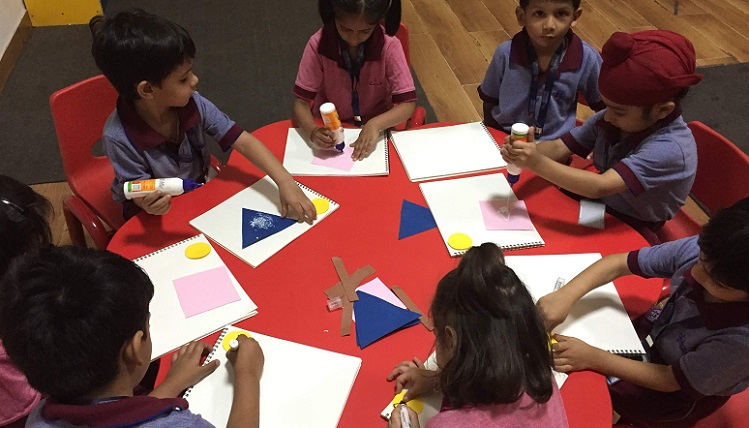 'Shapes are fun to learn' for Nursery kids