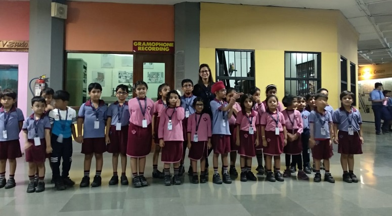 Students went on an excursion to National Science Centre