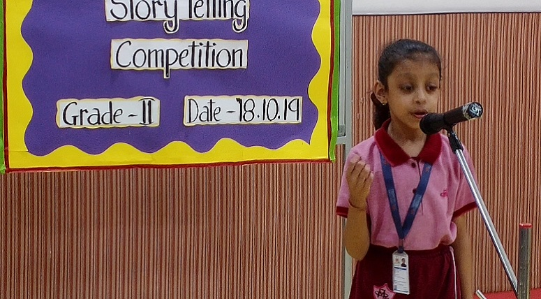 Inter-Class Storytelling Competition for Grade 2