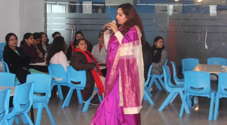 Workshop on Teaching Strategies by Principal Ms. Alpana Baveja