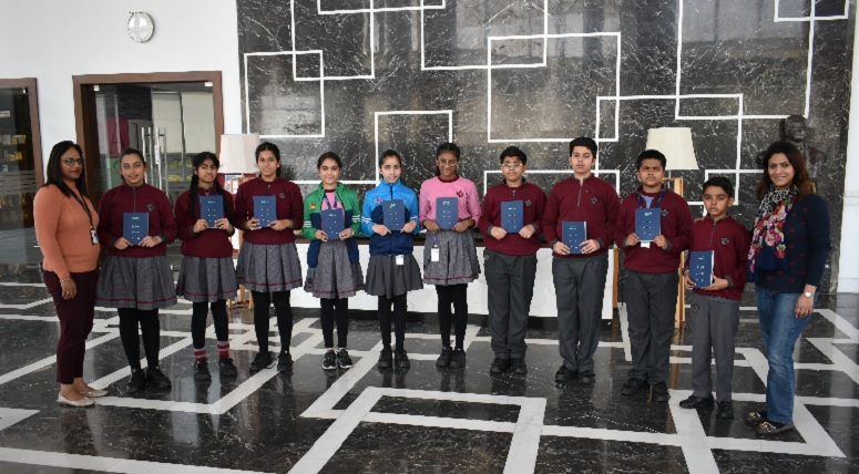 Students qualify for 2nd Round of 1st Korea-India Friendship Quiz Contest, Chandigarh 2020
