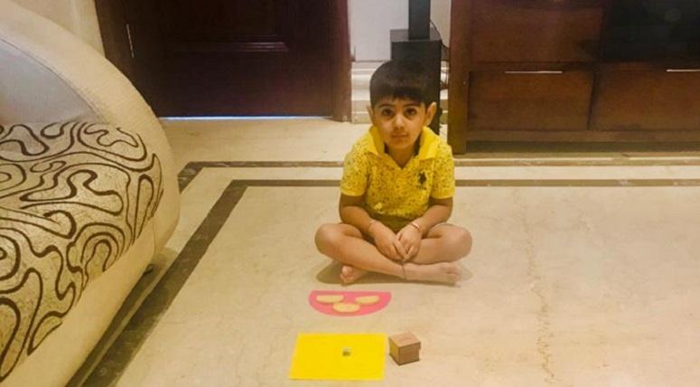 Shape Hunt Activity for Nursery Kids