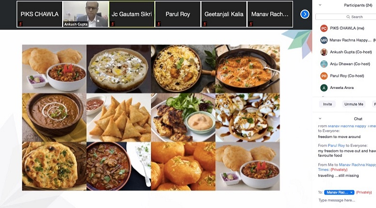 Webinar on 'Feeding the World' by Mr. Ankush Gupta