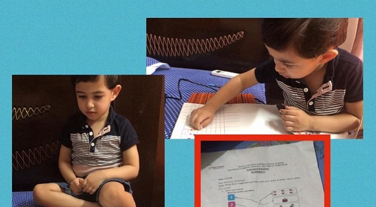 Numeracy Activity at Nursery
