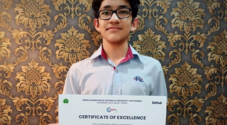 Ishaan Kesarwani bagged 1st position in Ideathon Innerve'20