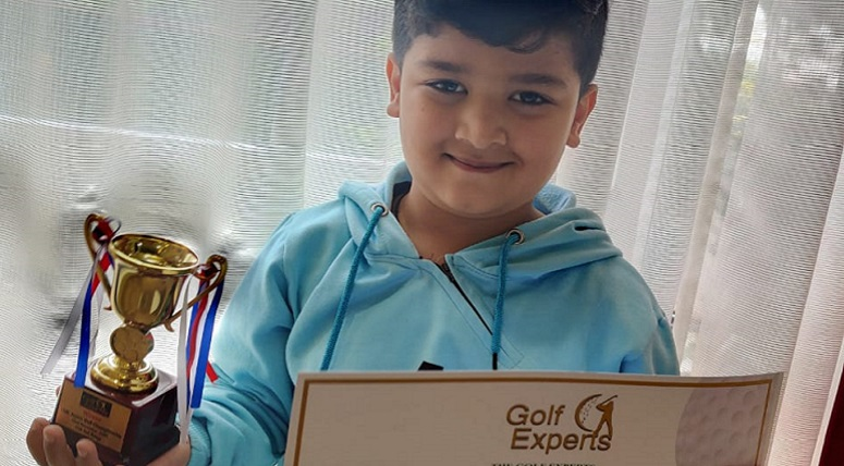 MRIS, Mohali student bags first position in 15th CGA Junior Golf Championship