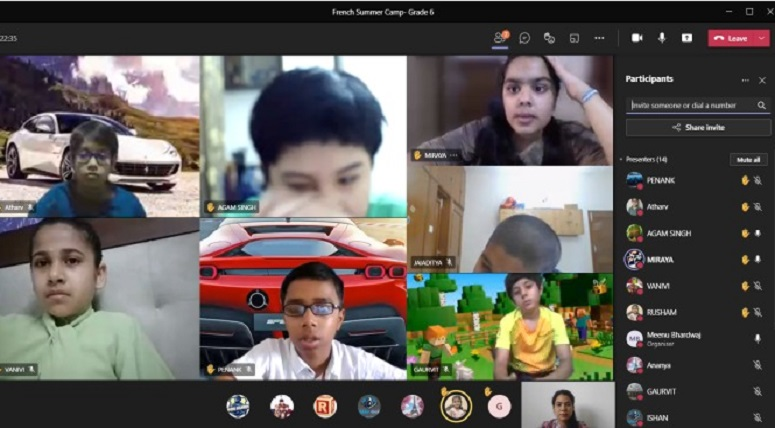 Virtual 5-day Language and Literacy Summer Camp for Grade VI to VIII French and Punjabistudents