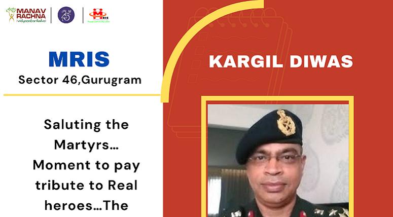 Inspiring Virtual Session by Brigadier Vinod Dutta