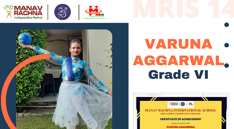 Student secured Ist position in Momentum- Contemporary Dance in ULLAS 2021