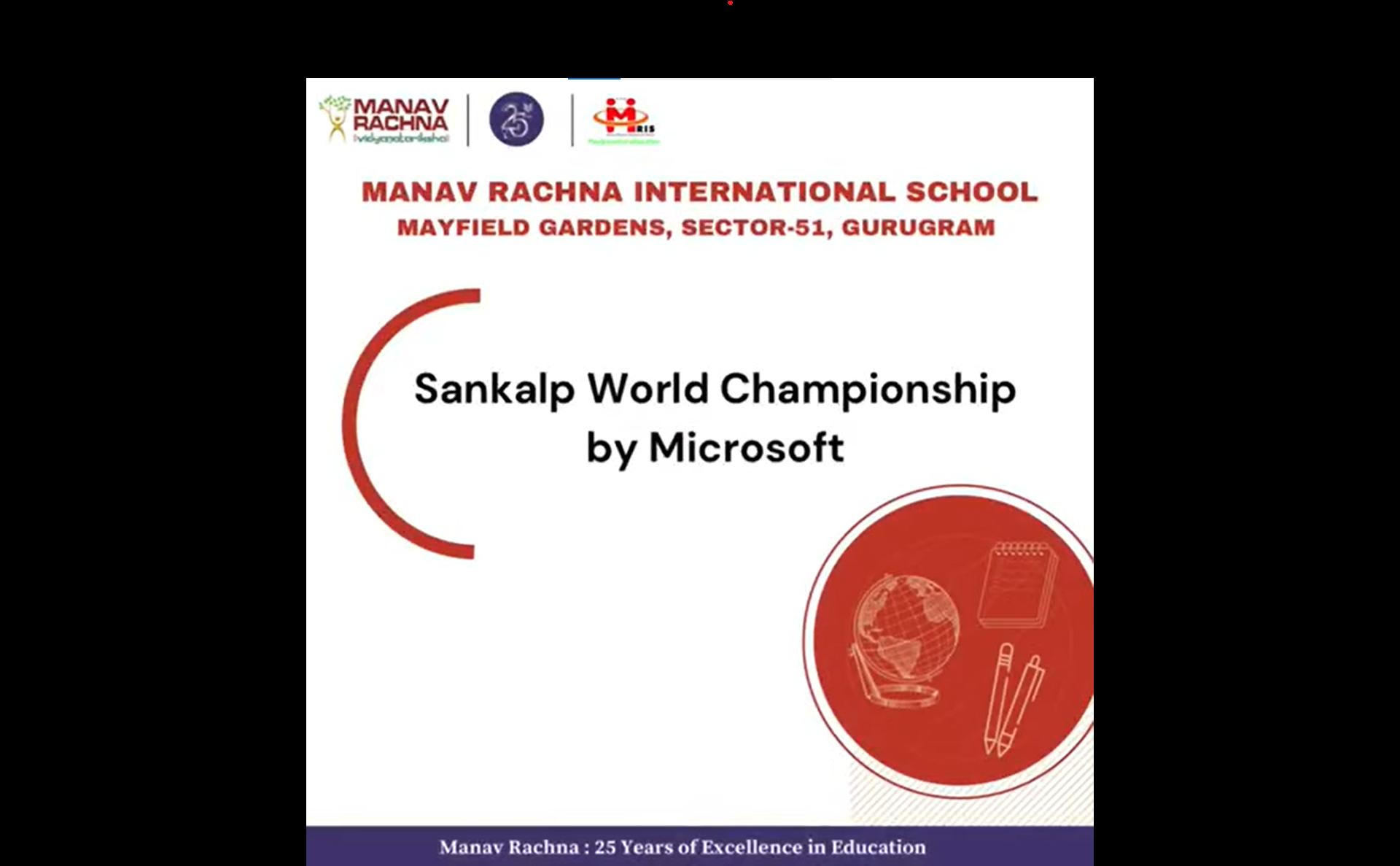 Students shine at Sankalp World Championship by Microsoft